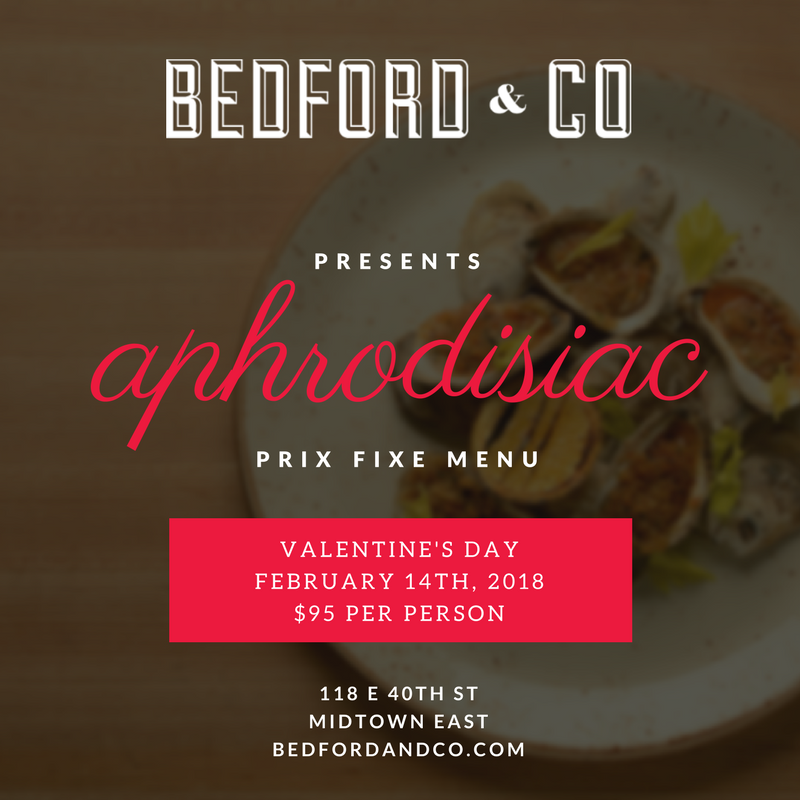 Bedford & Co – Valentine's Day 2018