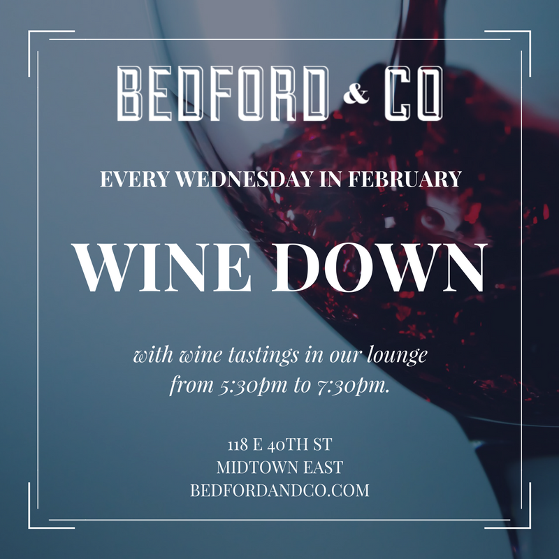 bedford – wine down wed