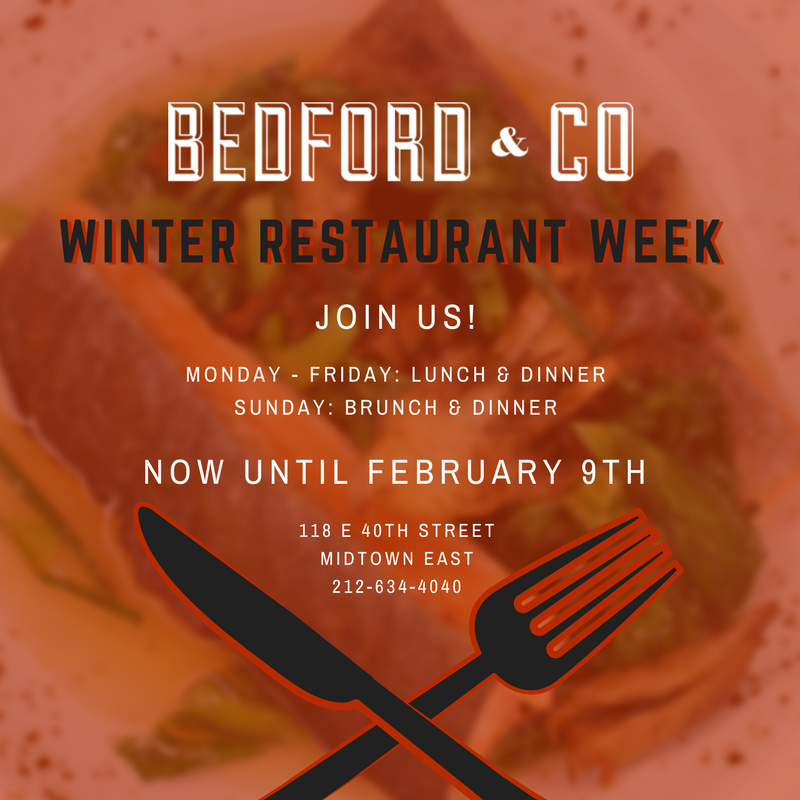bedford – winter restaurant week 2018 ig